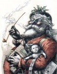 11. Night before Xmas Santa-Thomas-Nast-233x300-116x150